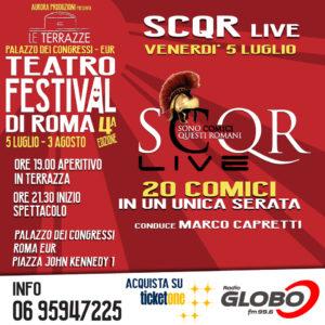 SCQR LIVE @ Le Terrazze