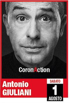 """ANTONIO GIULIANI - """"CoronAction"""" @ Le Terrazze"""
