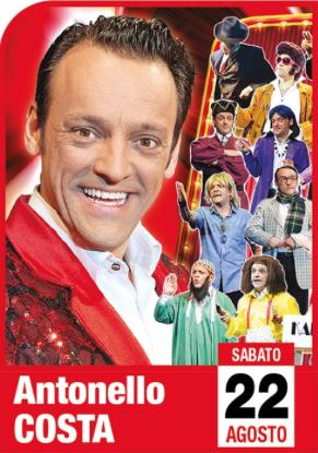 """ANTONELLO COSTA - """"E' meglio che faccia da solo"""" @ Le Terrazze"""